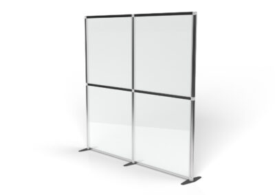 T3 single wall half clear panel and half clear panel 2x1m 4 panels