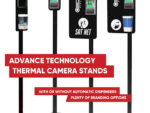 Digital Thermal Camera Stations including branding areas