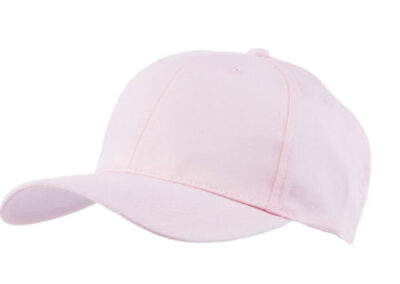 Pink Baseball hat 6 panel for protection visor