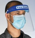 face visor with face mask